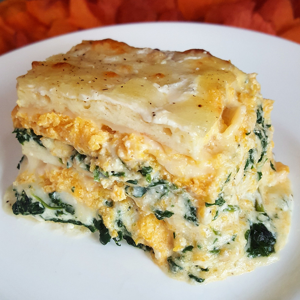 Butternut Squash and Spinach Lasagna | Keto | Low Carb