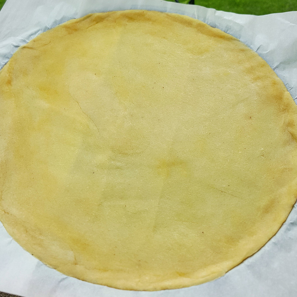 Fathead Low Carb Keto Pizza Dough