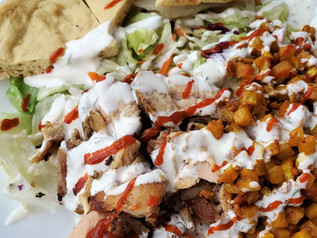 Halal Cart Style Chicken with Pita Bread| Keto | Low Carb