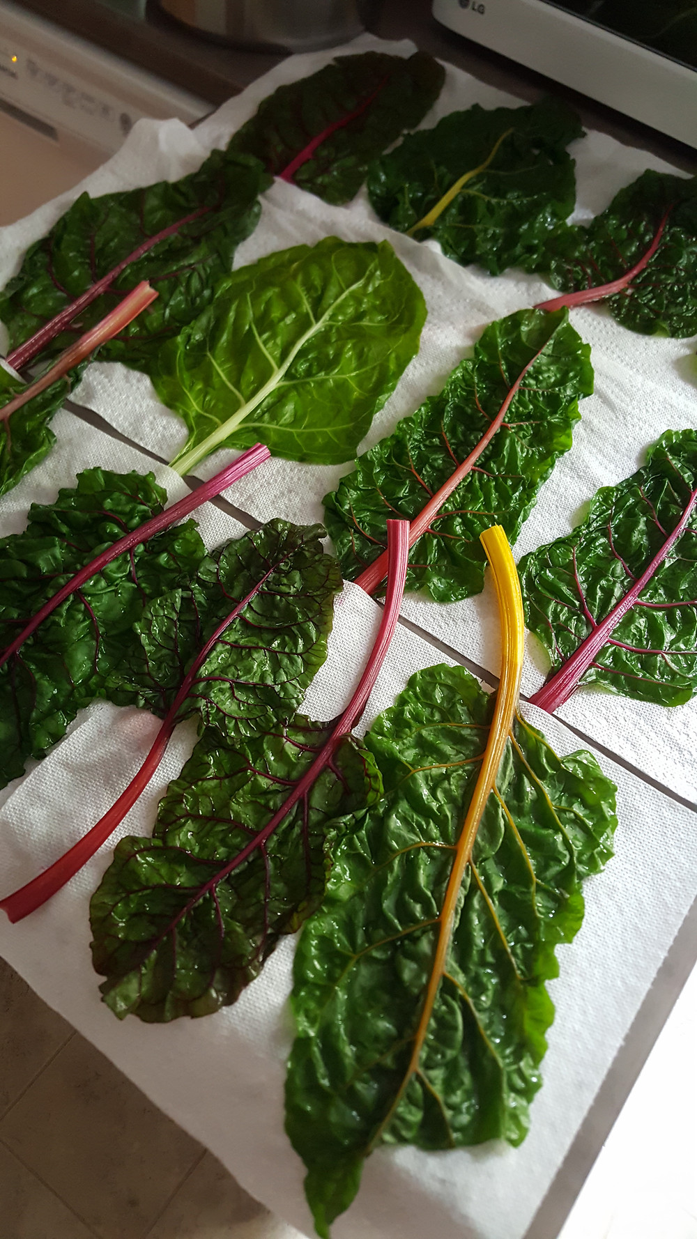 Blanched Swiss Chard