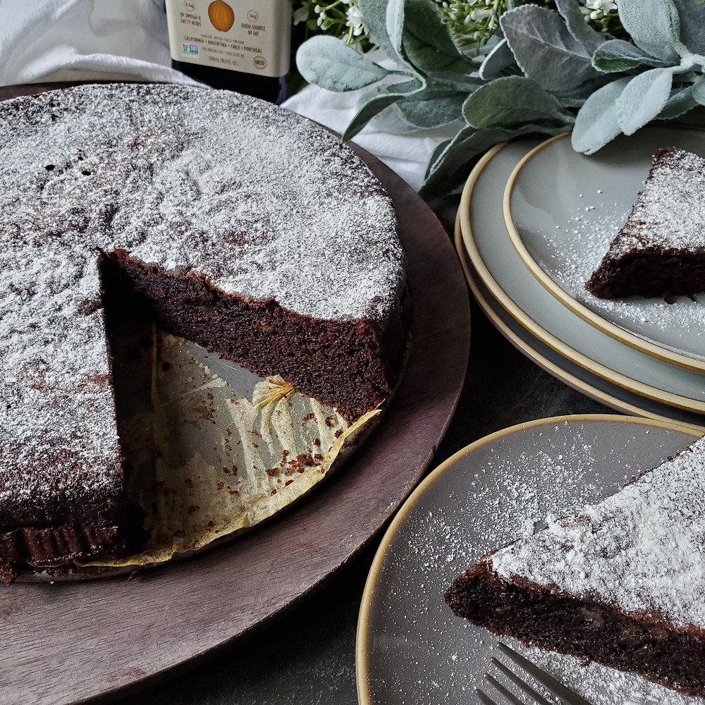 Chocolate Olive Oil Cake | Keto | Low Carb