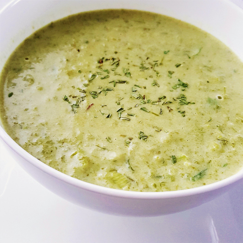 Cream of Green Bean Soup | Low Carb | Keto