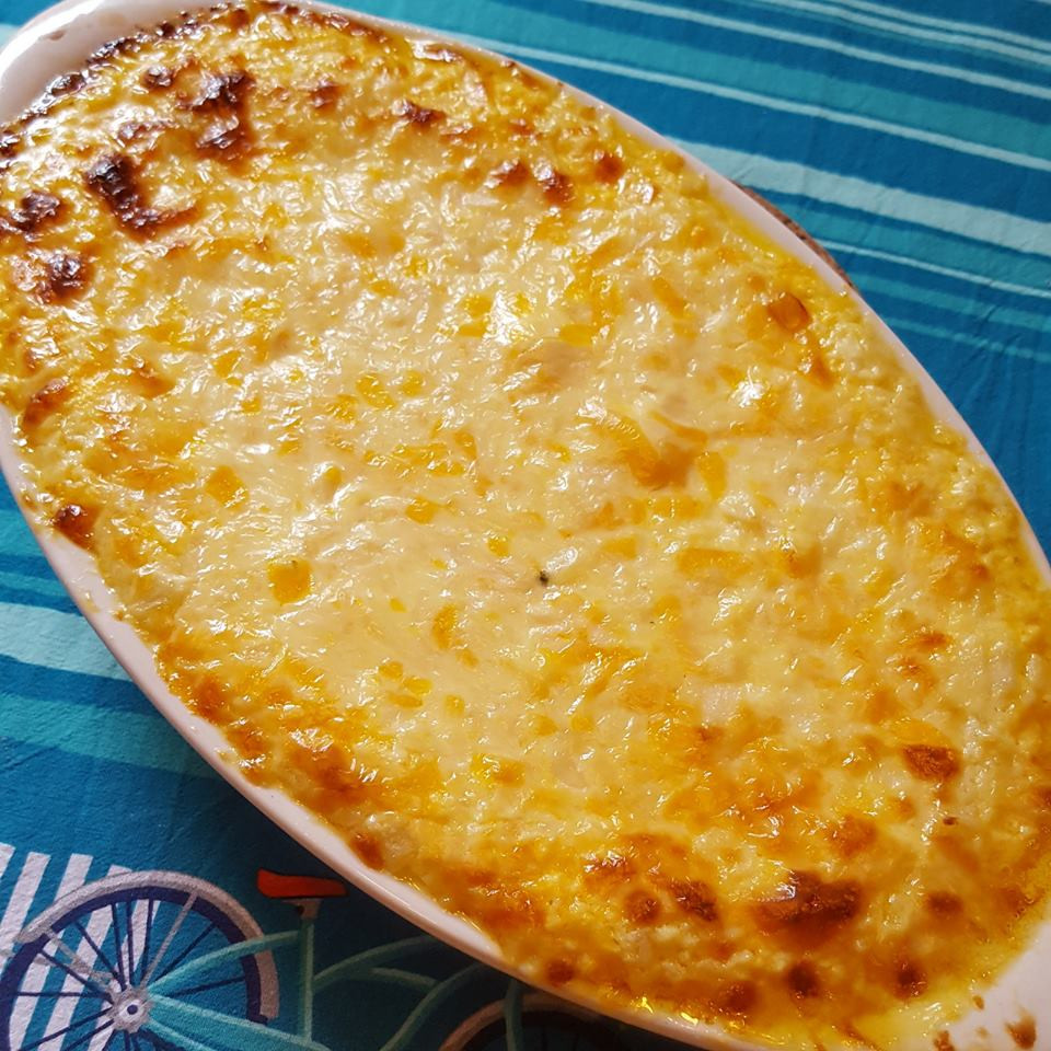 Hot Cheesy Onion Dip | Keto | Low Carb