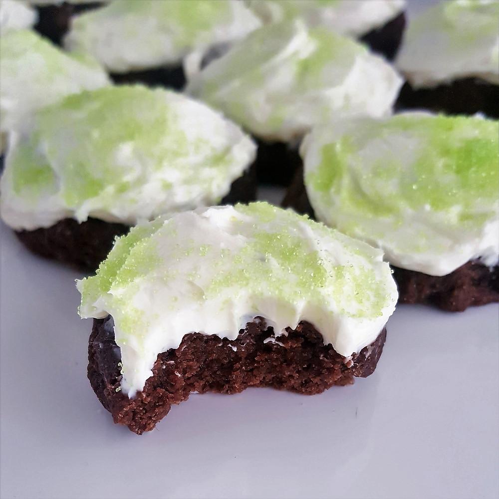 Chocolate Fudge Mint Cookies | Keto | Low Carb | Gluten Free