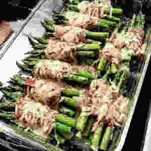 Asparagus Prosciutto Bundles Low Carb Keto
