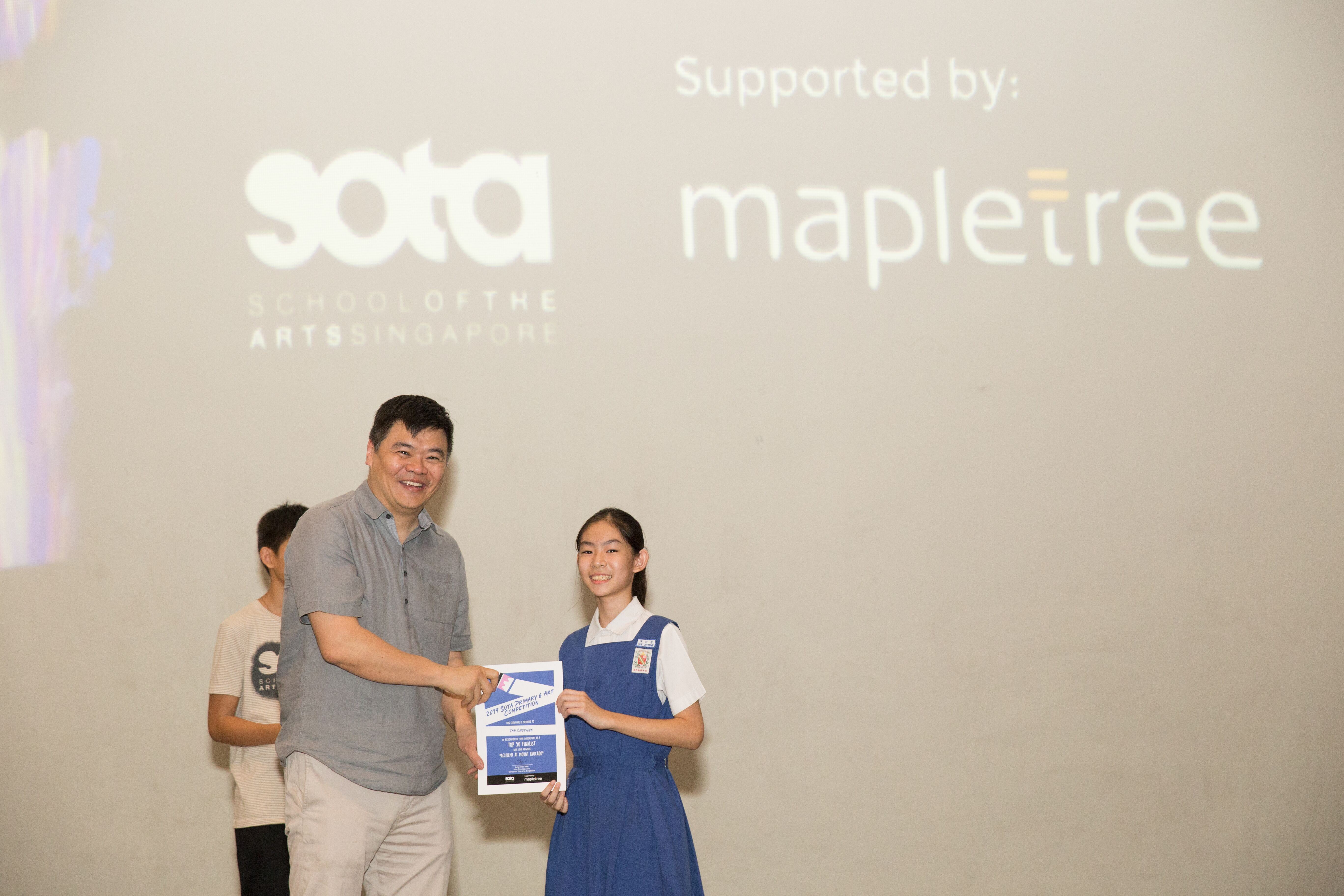 Prize Giving Ceremony Sg Photo
