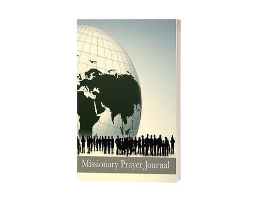Missionary Prayer Journal: Prayer List for Global Missions