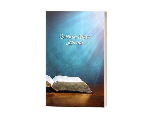 Bible Sermon Notes Journal