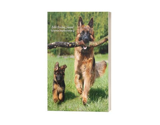 Bible Reading Journal: German Shepherd Edition