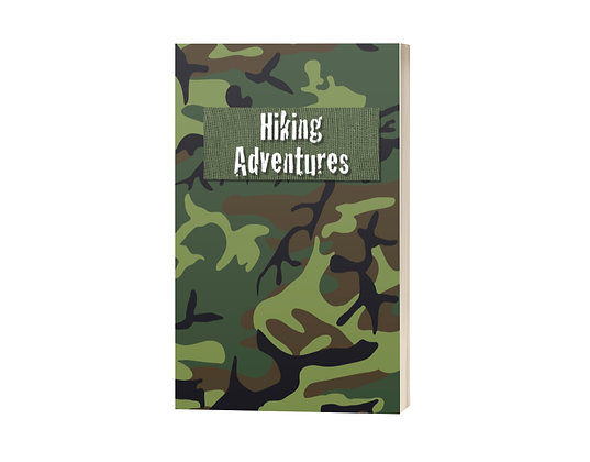 Hiking Adventures: Camo Journal