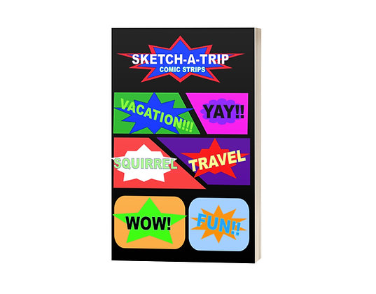 Sketch-A-Trip Comic Strips - B