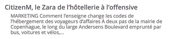 crescendo immobilier real estate promotion immobiliere JDD journal du dimanche news article citizenM hôtels Paris