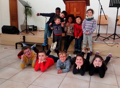 Club d'enfants du 8 février 2020