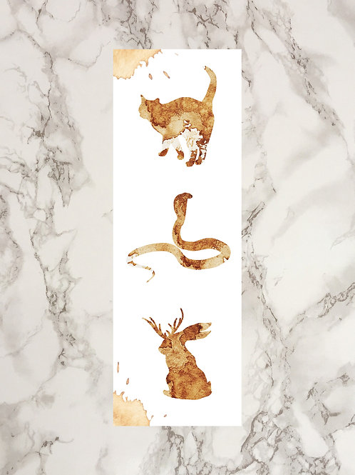 Coffee Stain Effect Trilogy Bookmark