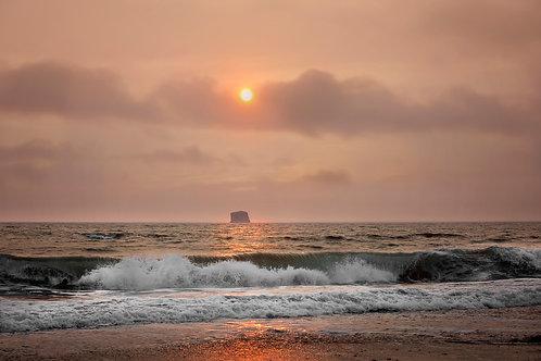"""Smokey Sunset"" - Mary Bailey Seattle Washington"