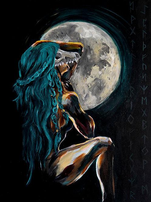 "Skelton Lady Artist ""My Own Echo"""