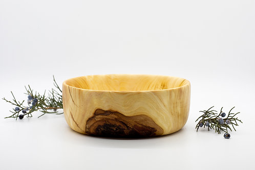 Mulberry Wood Natural Finish Wooden Bowl