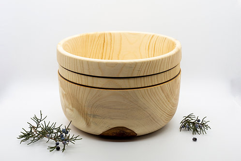 Natural finish Wooden Salad Bowl