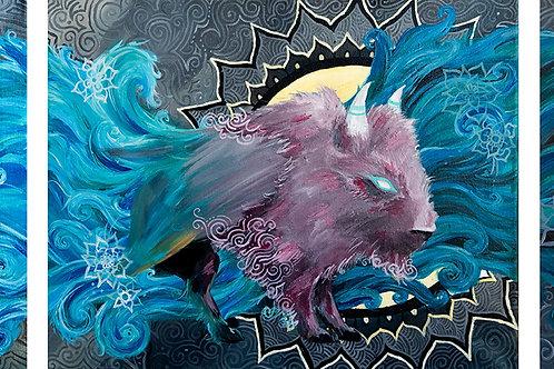 """Water Bison Artist """"My Own Echo"""""""