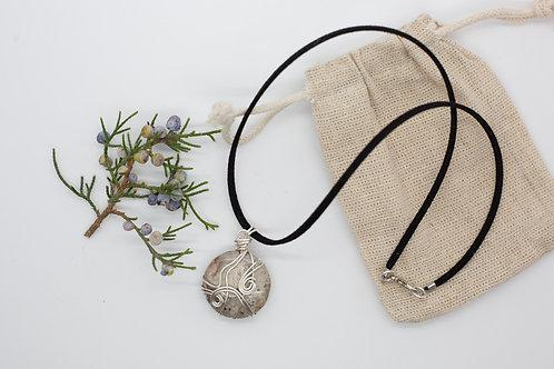 """""""Desert Winds"""" 18"""" Desert Jasper Pendant Necklace"""