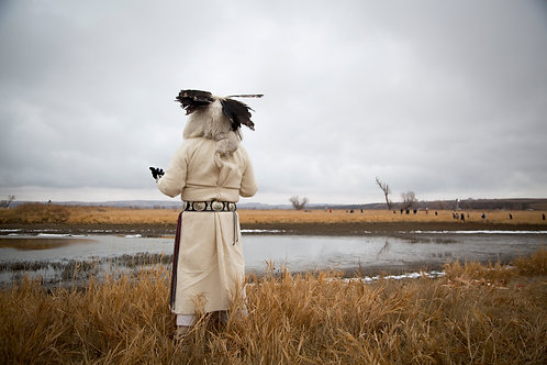 "'Before the Storm"" - Aly Mae Standing Rock ND"