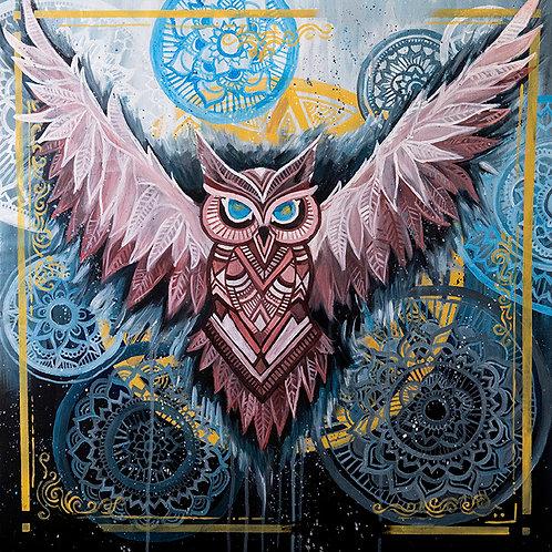 """Owl Artist """"My Own Echo"""""""