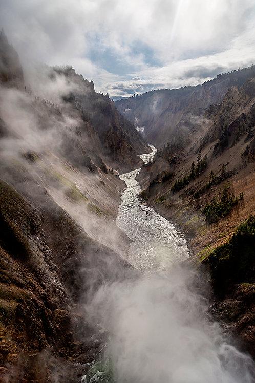 """The Path"" - Mary Bailey Yellowstone National Park"