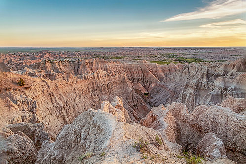 """As Far as the Eye Can See"" - Mary Bailey Badlands National Park"