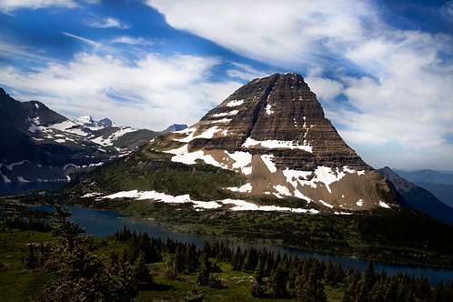 """Stands in Light""- Mary Bailey Glacier National Park"