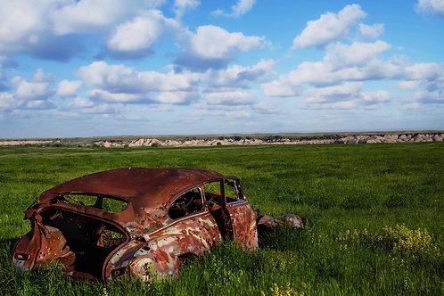 """Succumbed"" - Scott Bailey Badlands National Park"