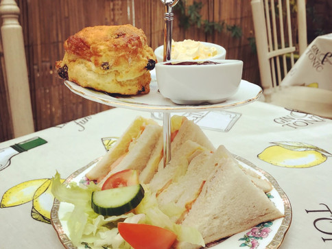 Afternoon Tea at The Ridge Rooms Restaurant