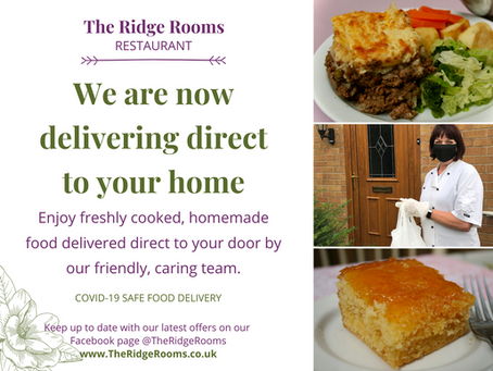 Home-cooked food delivered direct to your door