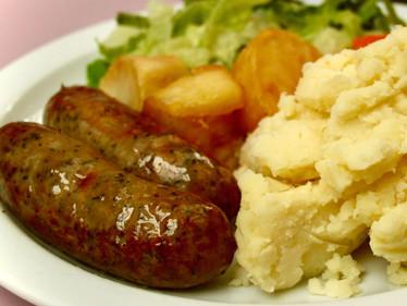 Lincolnshire sausage, mash and gravy.jpg