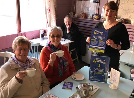 The Ridge Rooms launches the first Chatter & Natter table to tackle loneliness in Boston