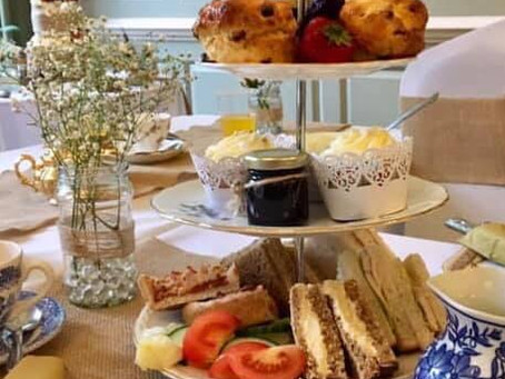 Home delivery Afternoon Teas now available!