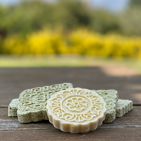 Celtic Stone Bath Bomb with CBD - Set of 4