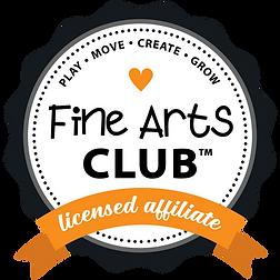ORANGE - Fine Arts Club Ribbon LICENSED