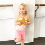 Emerson earned a gold star for her hard