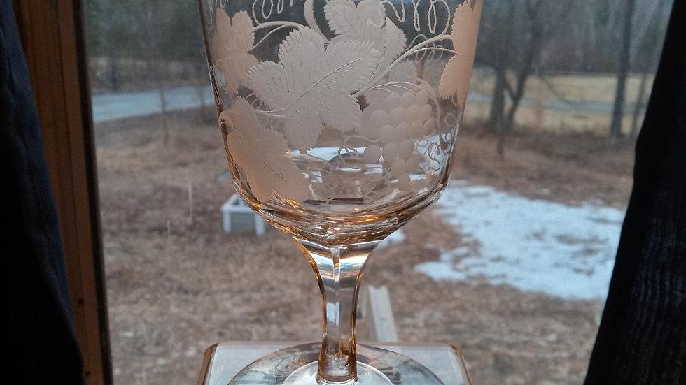 Engraved Goblet