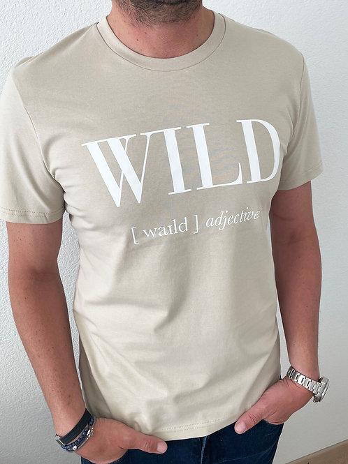 WILD T-SHIRT / BEIGE / MEN