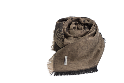 Tiger Scarf / Dark Grey