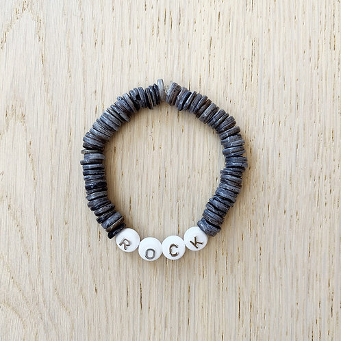 CANDY BRACELET / ROCK-DARK GREY