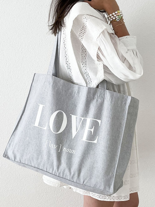 SHOPPING BAG LOVE
