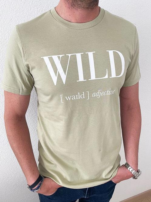 WILD T-SHIRT / VERT / MEN