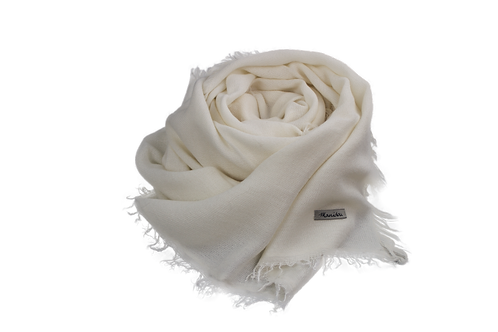 Basic Scarf / White
