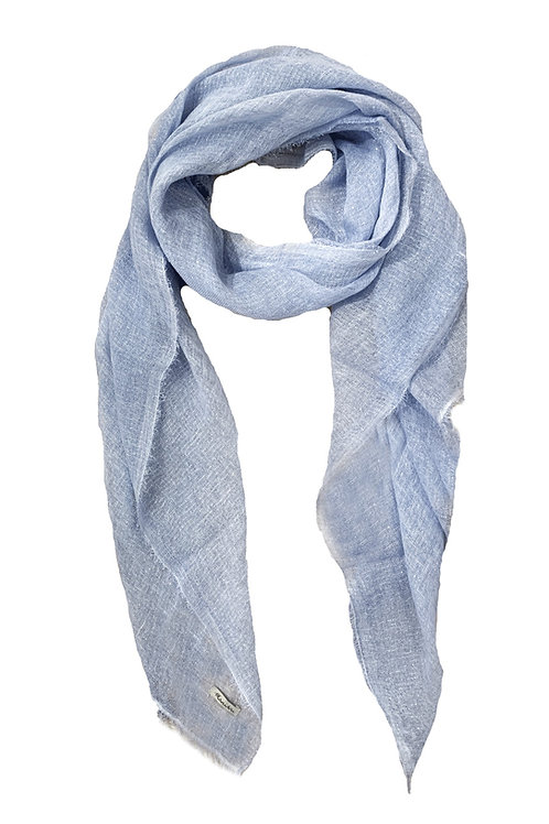 SHINY SUMMER SCARF /BLUE