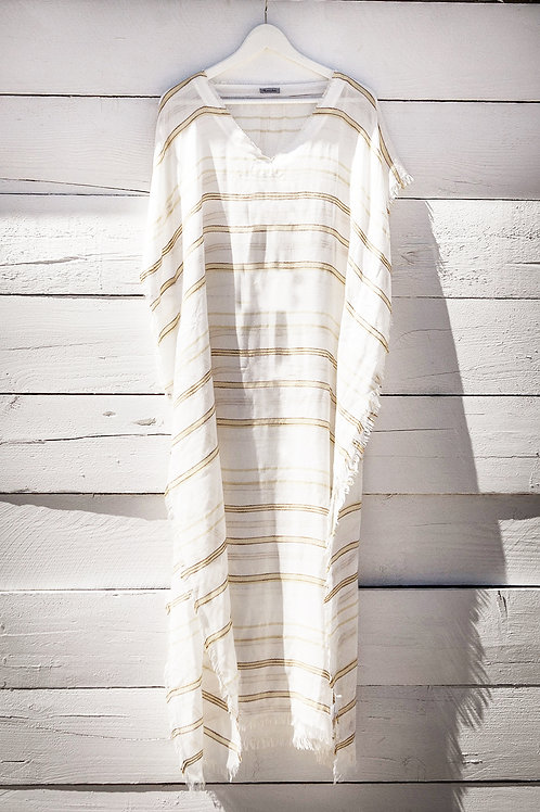KAFTAN / YELLOW-WHITE