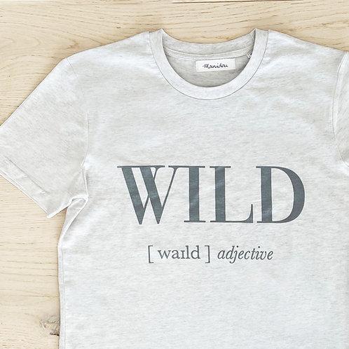 WILD T-SHIRT / LIGHT GREY / MEN