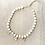 Thumbnail: PEARL NECKLACE / 3 CHARMS