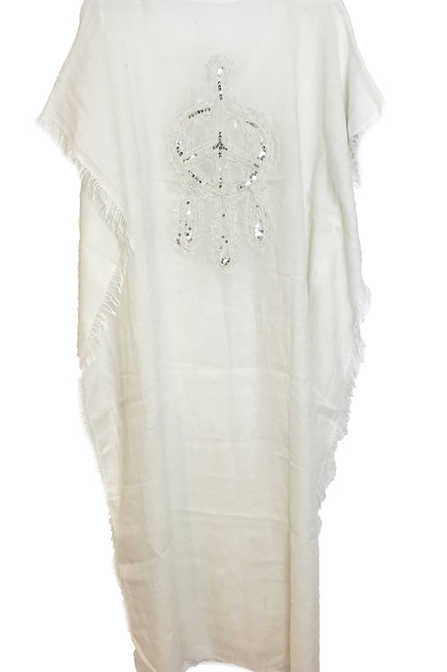 GYPSY KAFTAN - IVORY - LONG